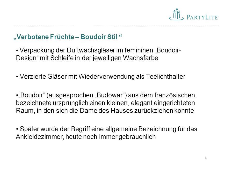 """""""Verbotene Früchte – Boudoir Stil"""