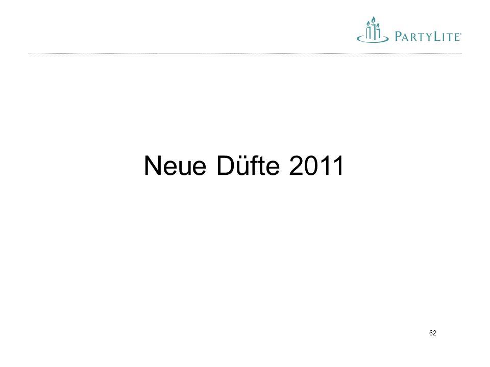 Neue Düfte 2011