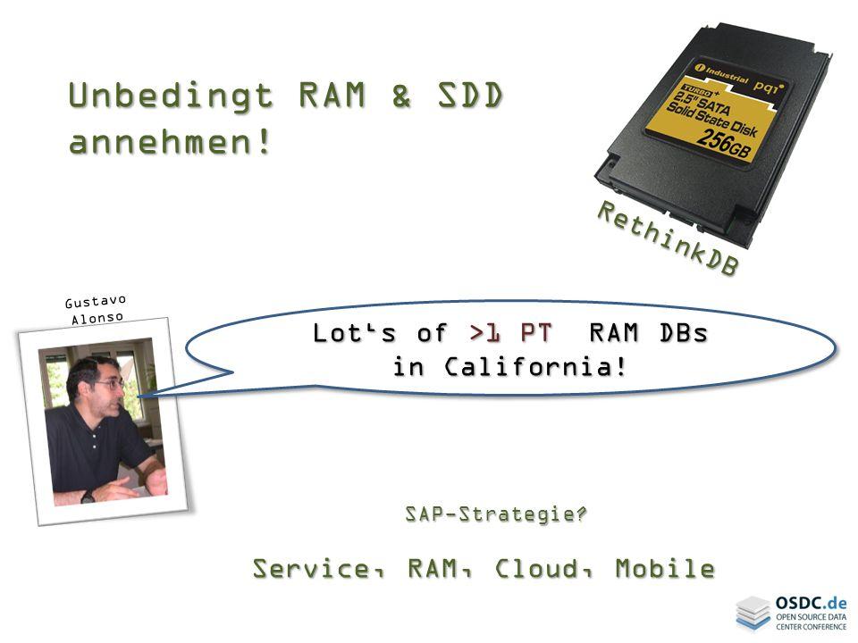 Unbedingt RAM & SDD annehmen!