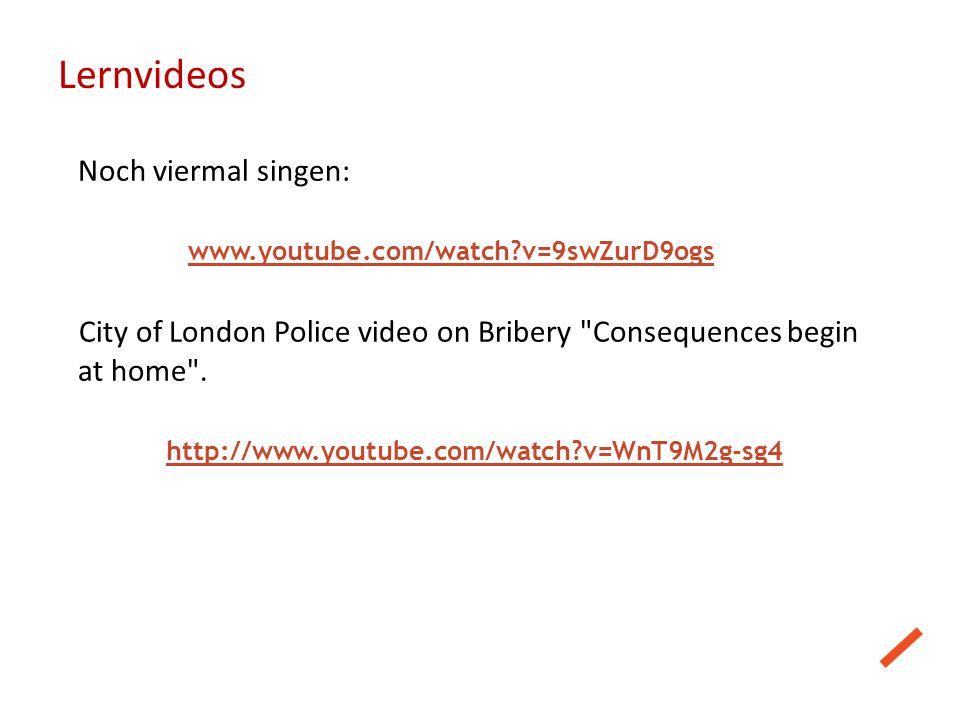 Lernvideos Noch viermal singen: