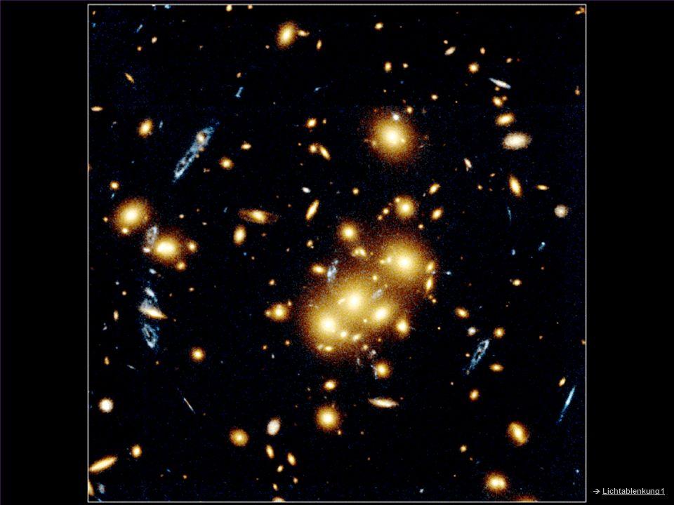HST – Einstein-Ring  Lichtablenkung 1