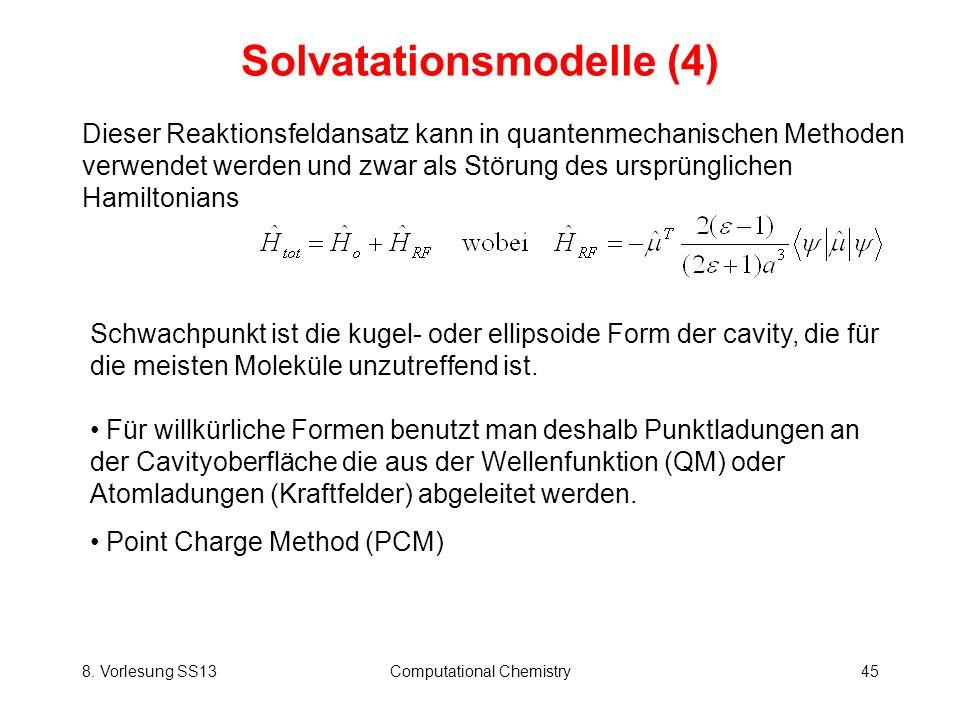 Solvatationsmodelle (4)