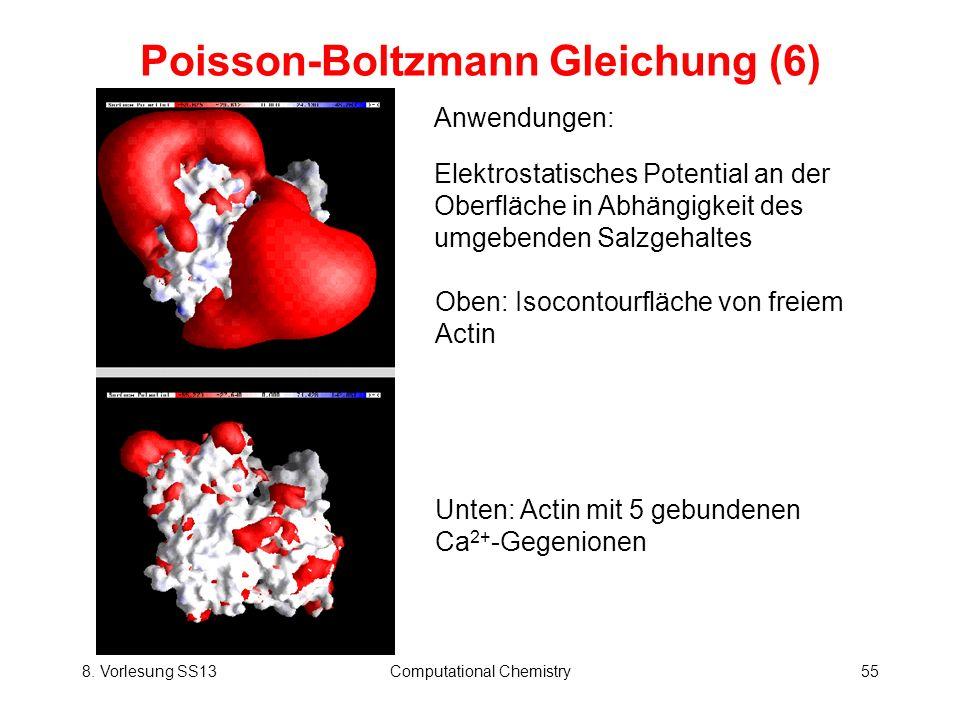 Poisson-Boltzmann Gleichung (6)