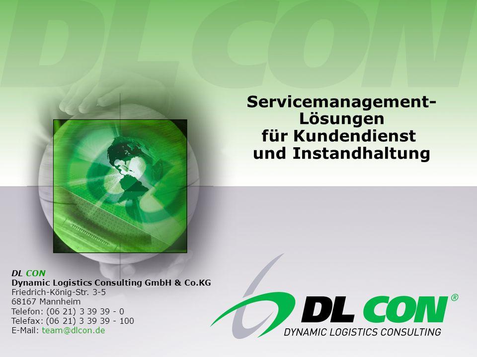 Servicemanagement- Lösungen für Kundendienst und Instandhaltung