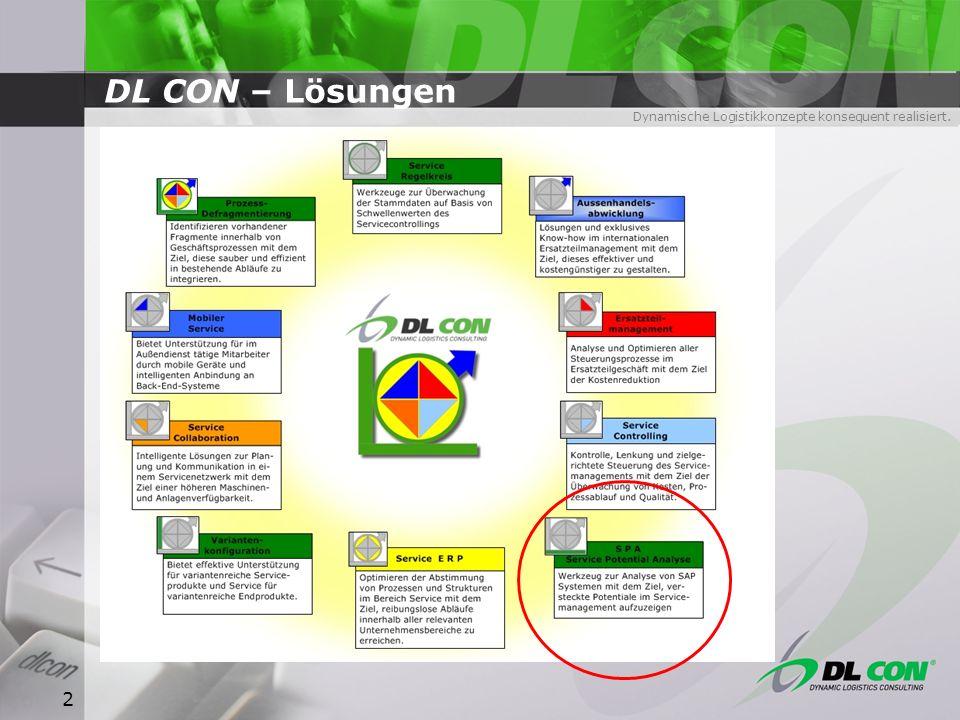 DL CON – Lösungen