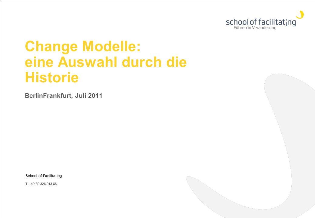 Change Modelle: eine Auswahl durch die Historie
