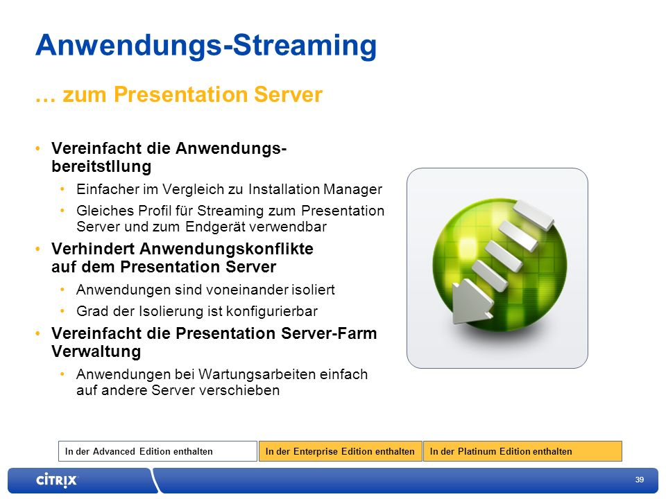 Anwendungs-Streaming