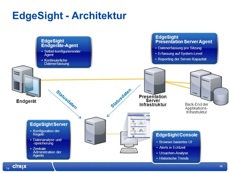 EdgeSight - Architektur