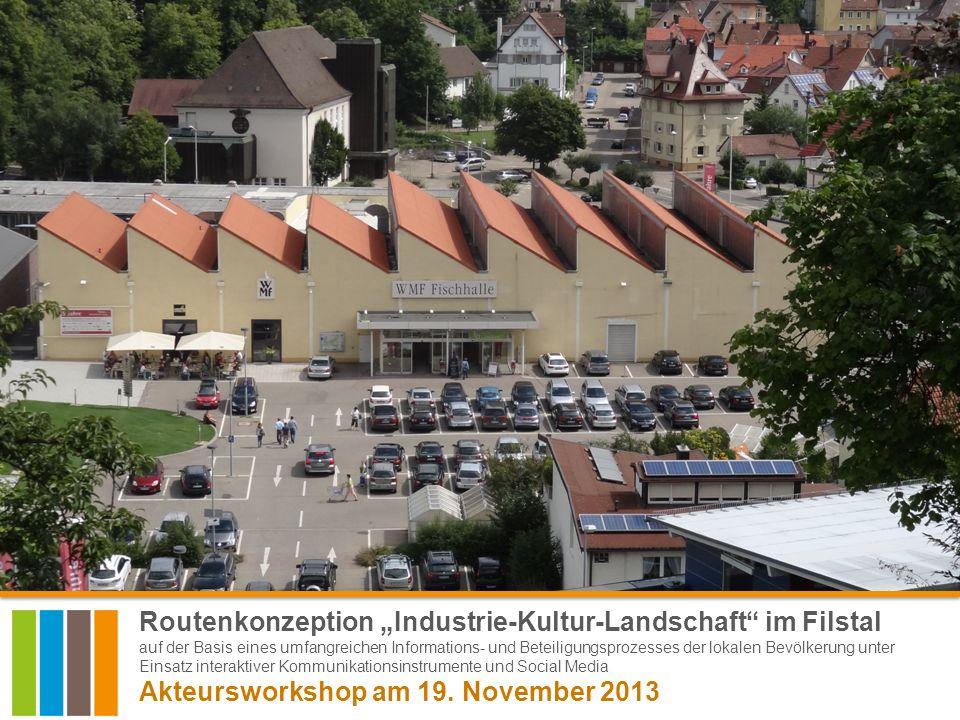Akteursworkshop am 19. November 2013