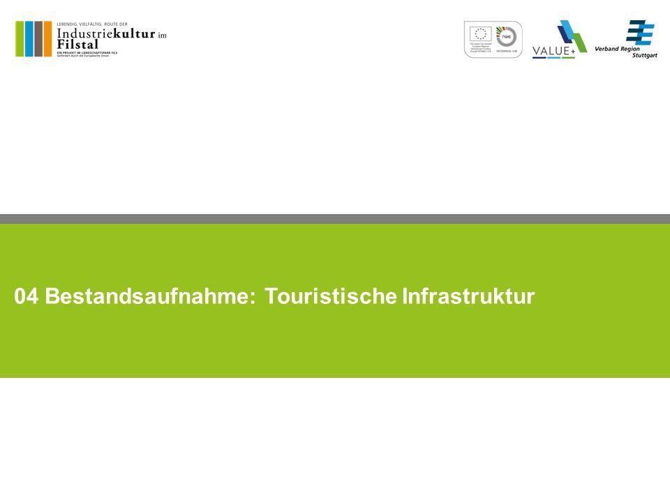 04 Bestandsaufnahme: Touristische Infrastruktur