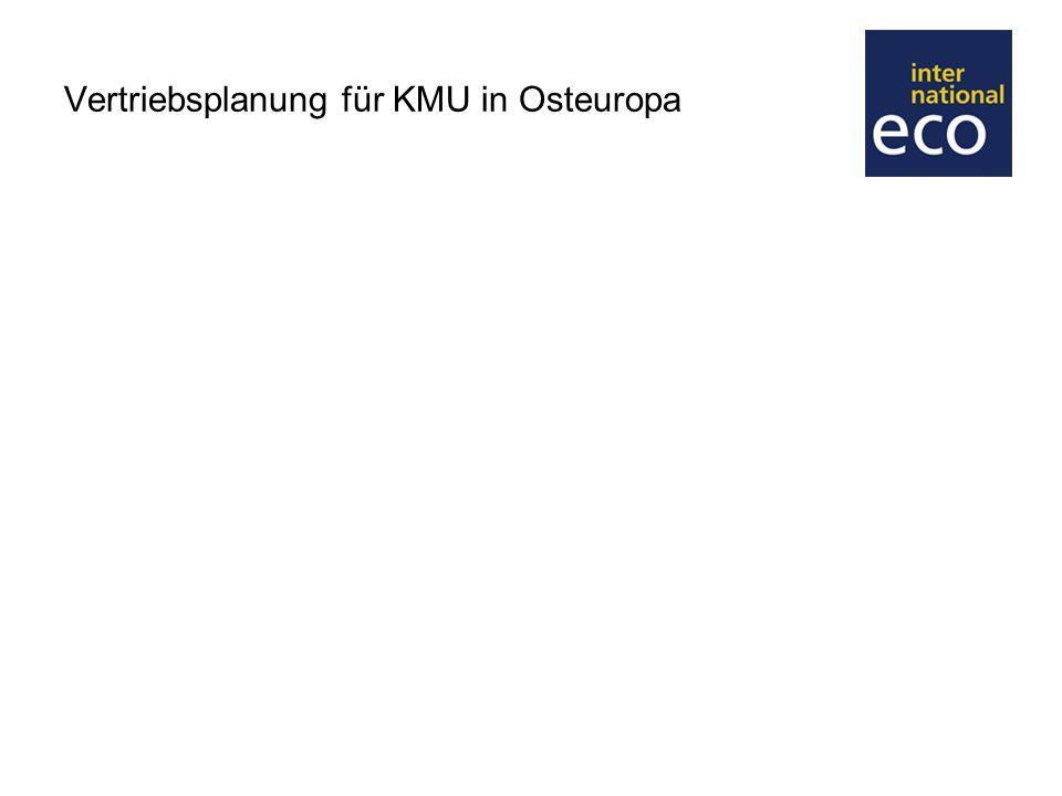 Vertriebsplanung für KMU in Osteuropa