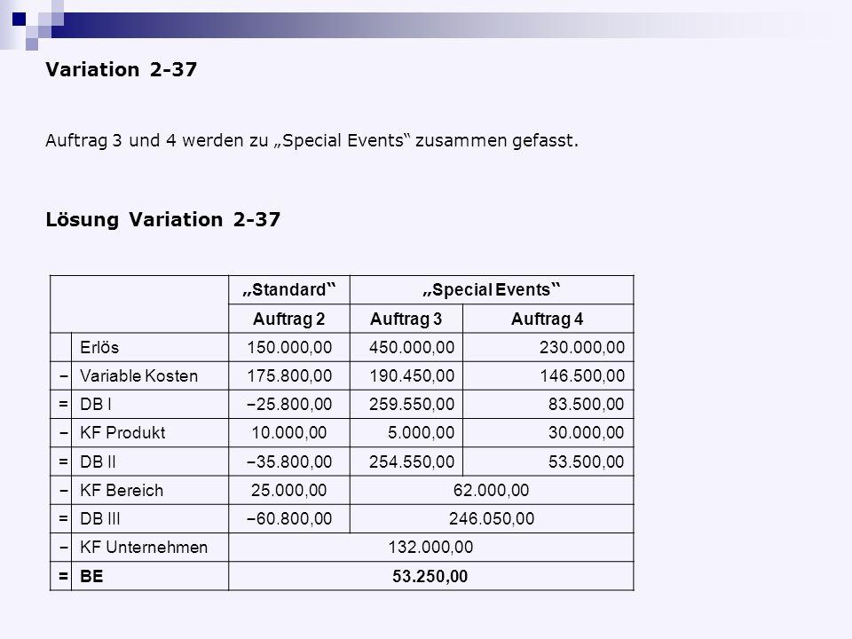 Variation 2-37 Lösung Variation 2-37