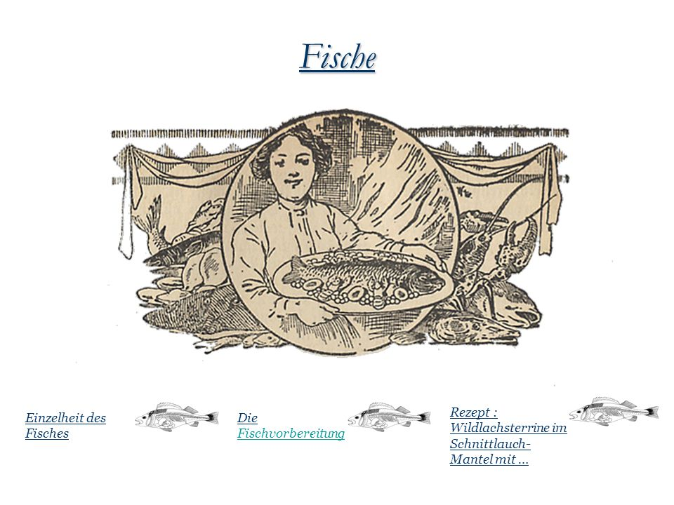 Fische Rezept : Wildlachsterrine im Schnittlauch-Mantel mit …