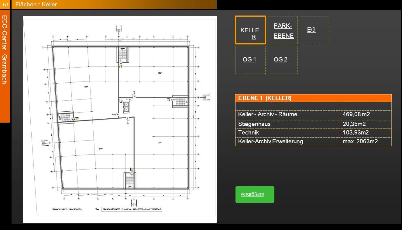 Keller-Archiv Erweiterung max. 2063m2