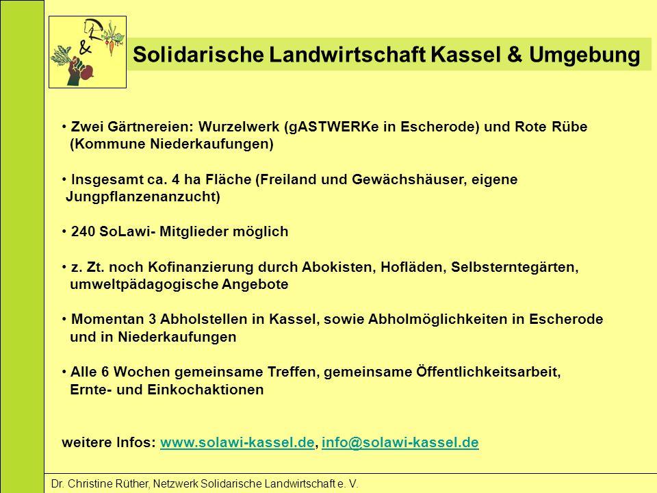 Solidarische Landwirtschaft Kassel & Umgebung