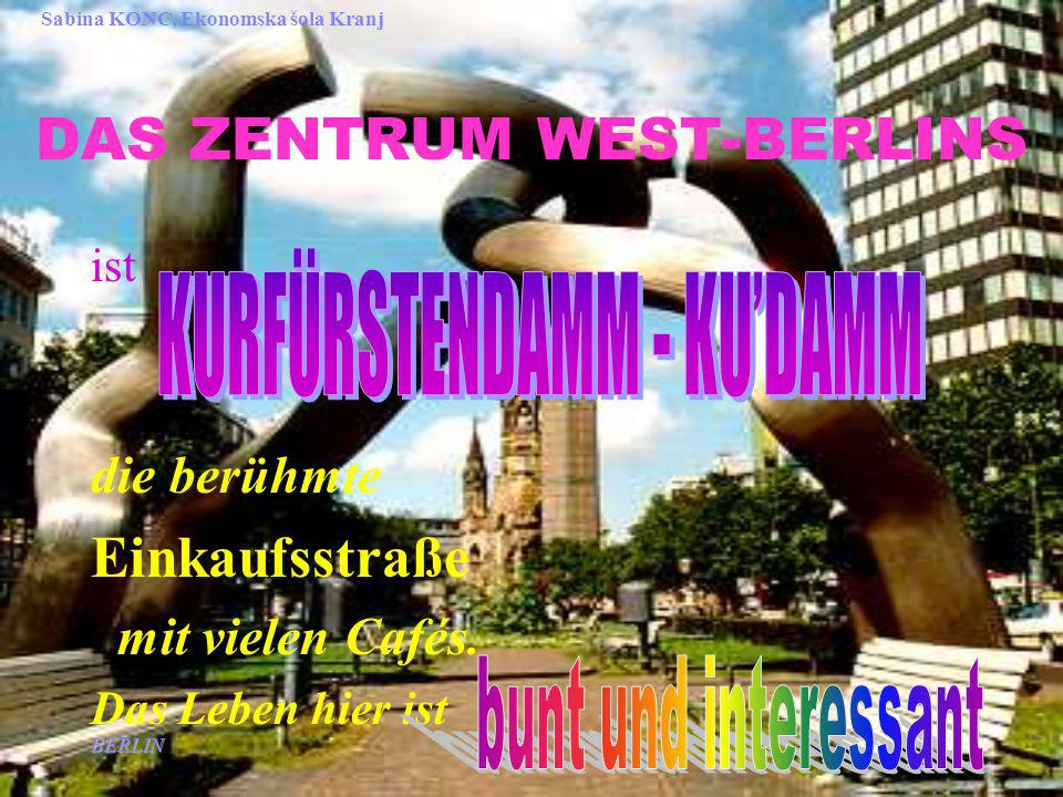 DAS ZENTRUM WEST-BERLINS