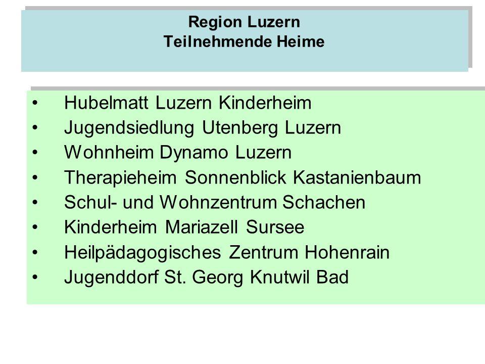 Region Luzern Teilnehmende Heime
