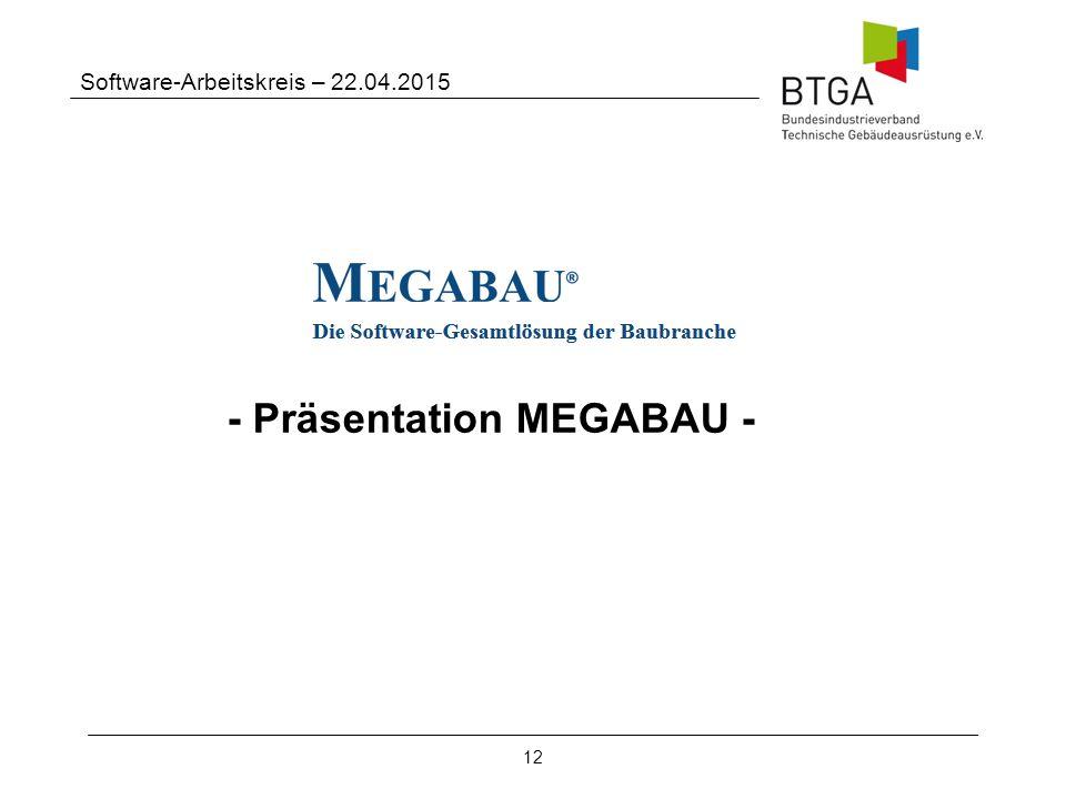 - Präsentation MEGABAU -