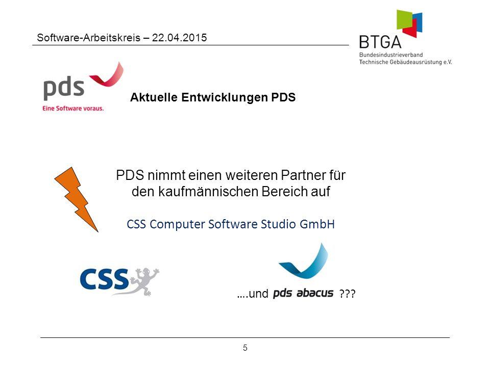 PDS nimmt einen weiteren Partner für den kaufmännischen Bereich auf
