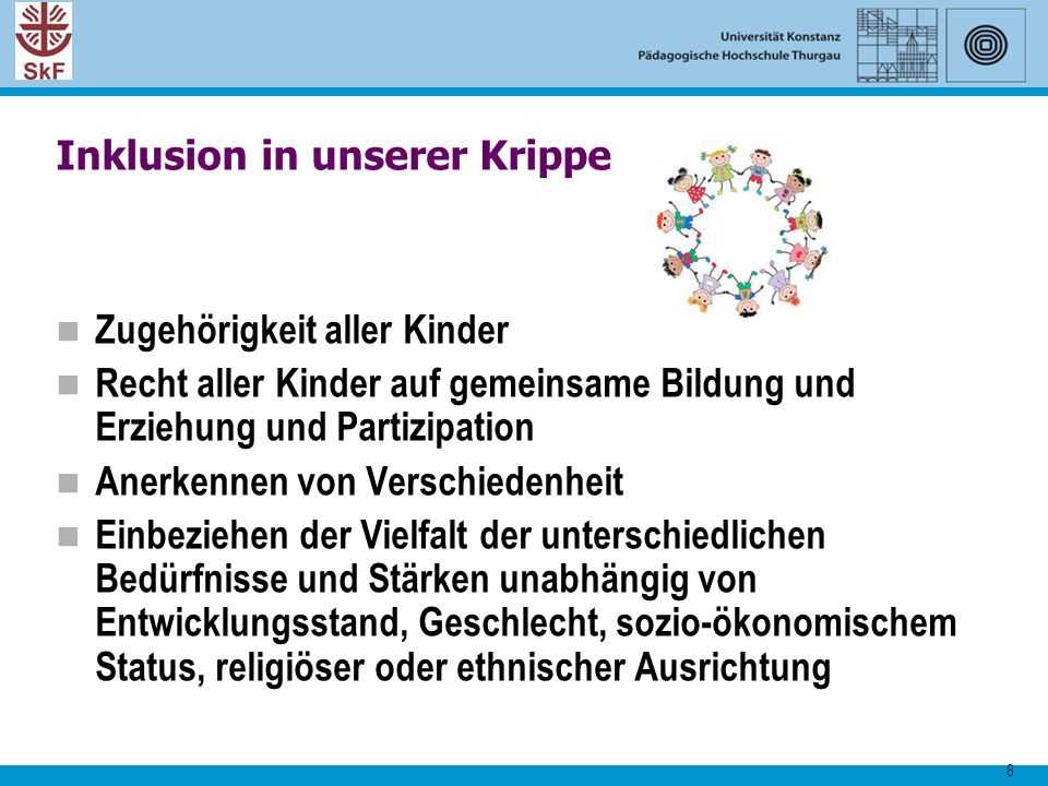 Inklusion in unserer Krippe