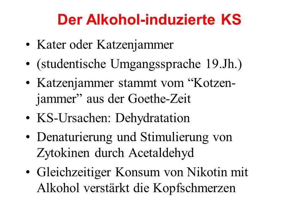 Der Alkohol-induzierte KS