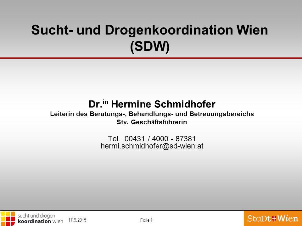 Sucht- und Drogenkoordination Wien (SDW)