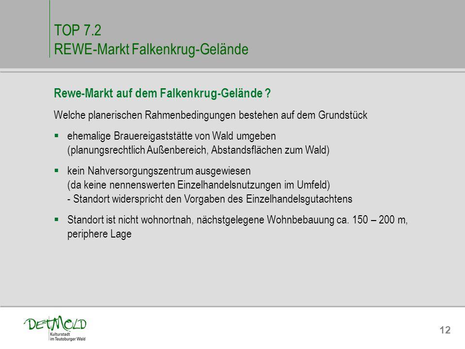 TOP 7.2 REWE-Markt Falkenkrug-Gelände