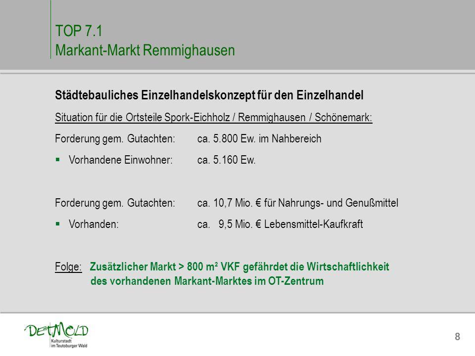 TOP 7.1 Markant-Markt Remmighausen