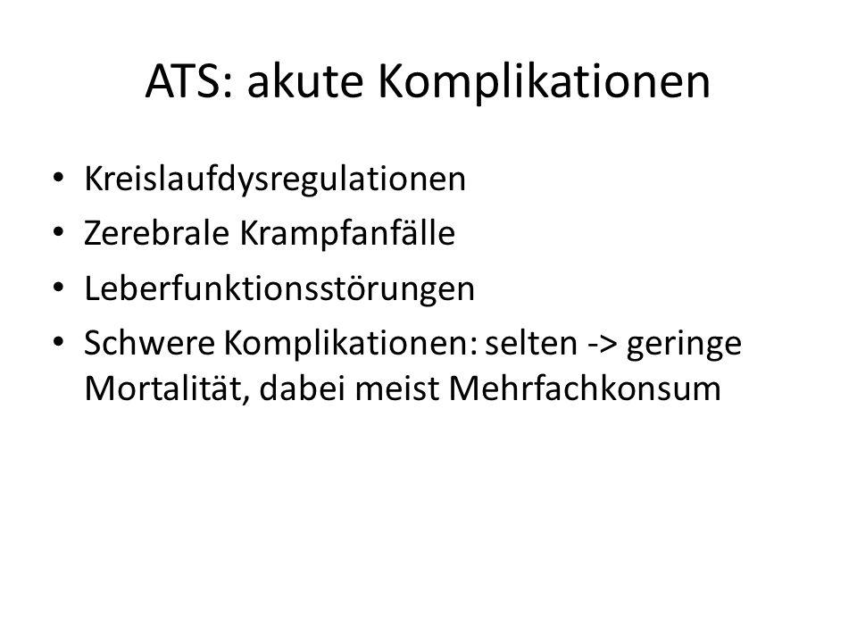 ATS: akute Komplikationen