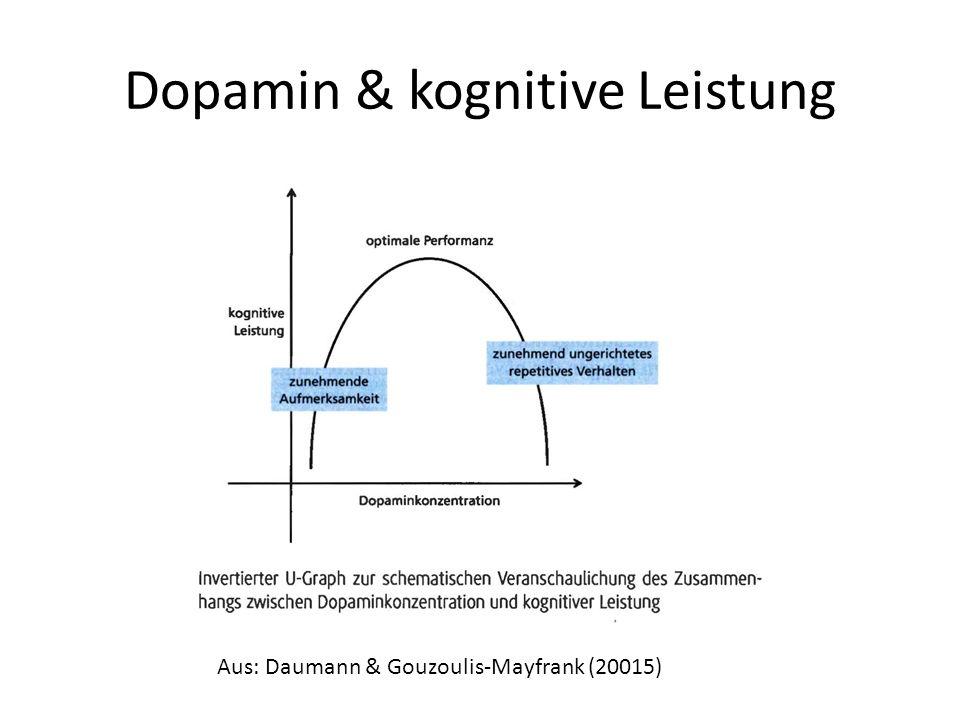 Dopamin & kognitive Leistung