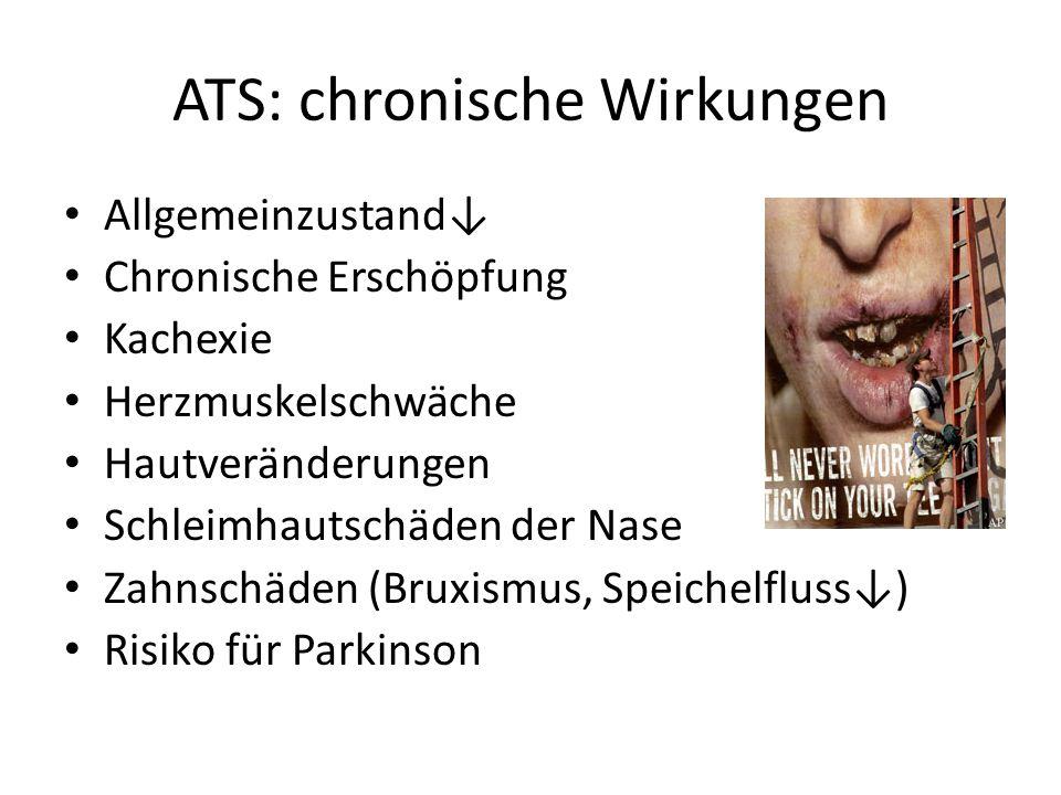 ATS: chronische Wirkungen