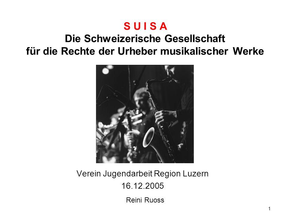 Verein Jugendarbeit Region Luzern 16.12.2005