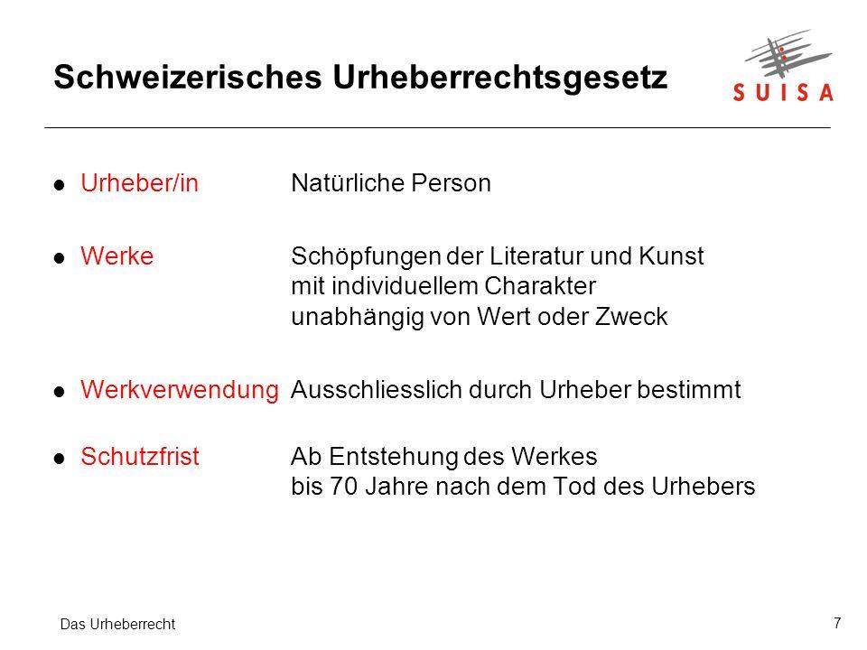 Schweizerisches Urheberrechtsgesetz