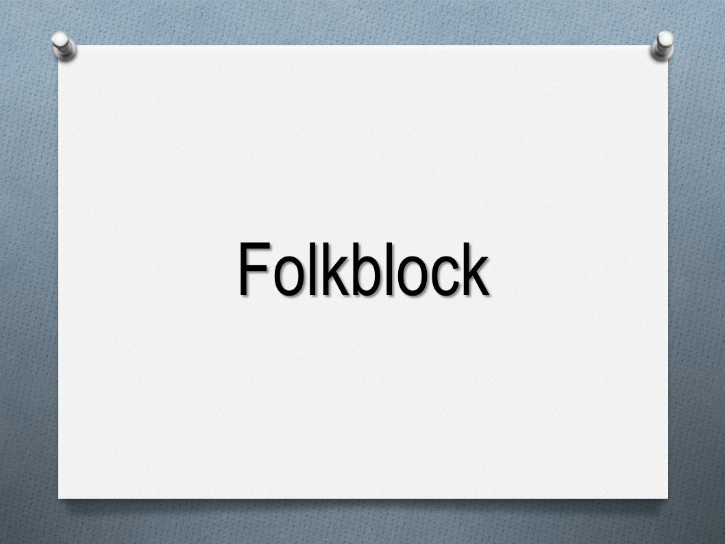 Folkblock