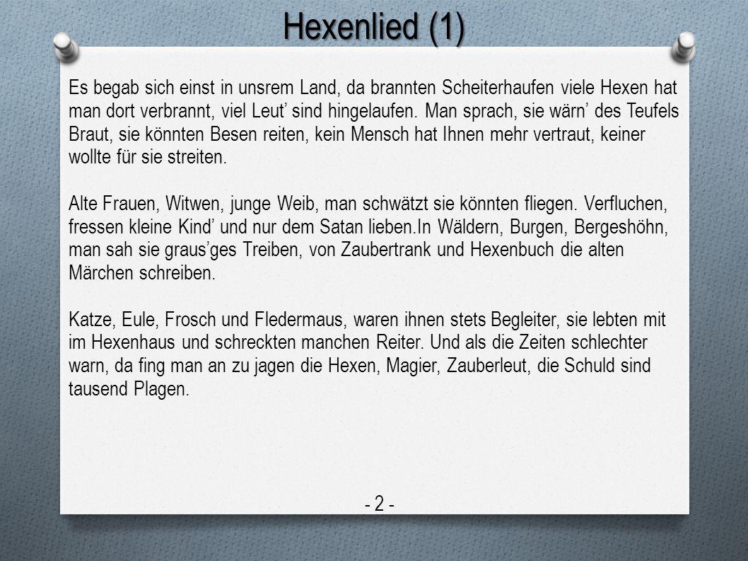 Hexenlied (1)