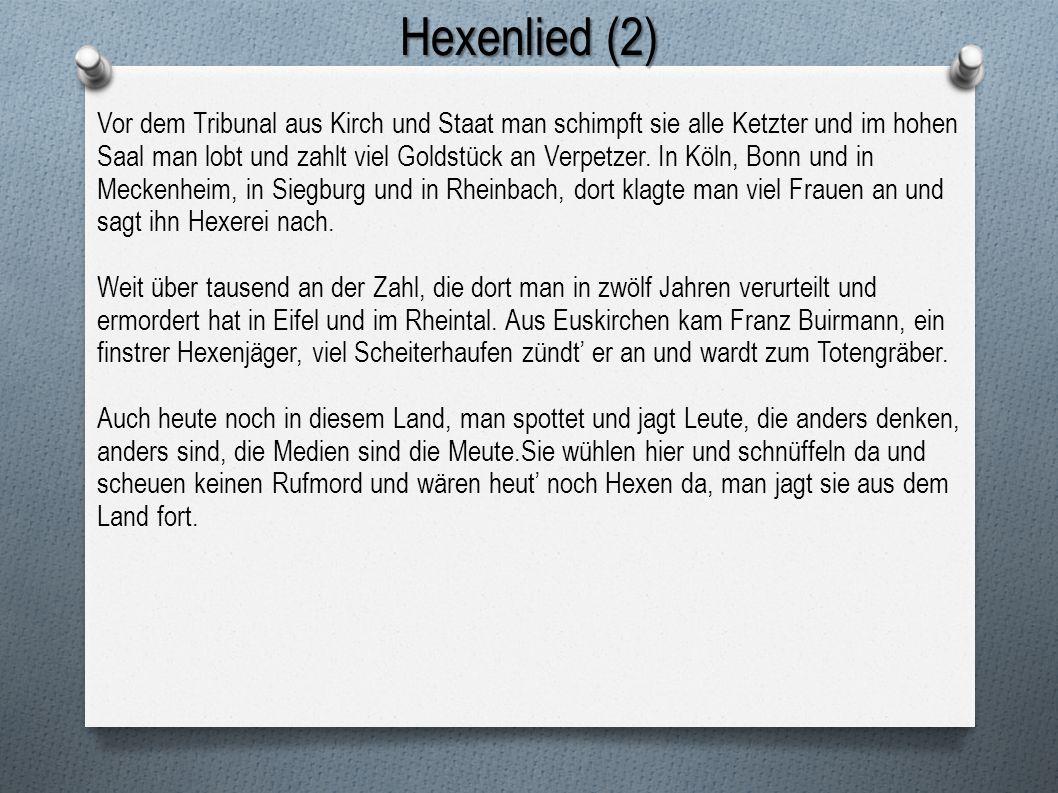 Hexenlied (2)