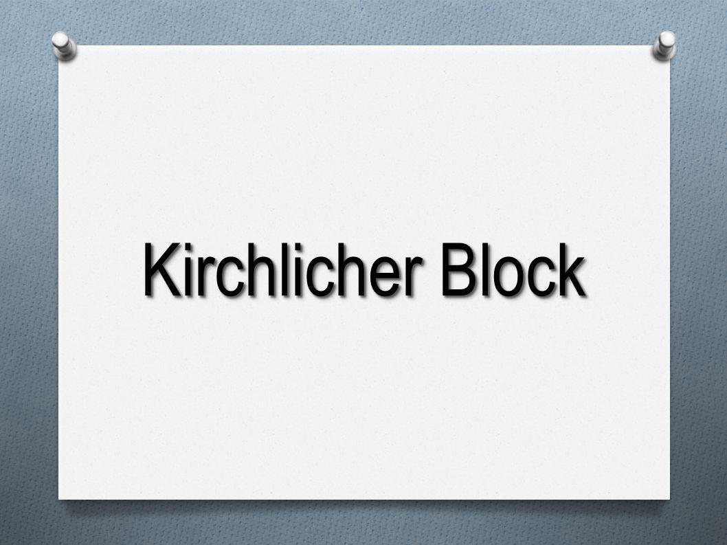 Kirchlicher Block