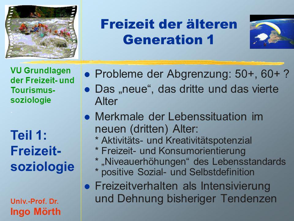 Freizeit der älteren Generation 1