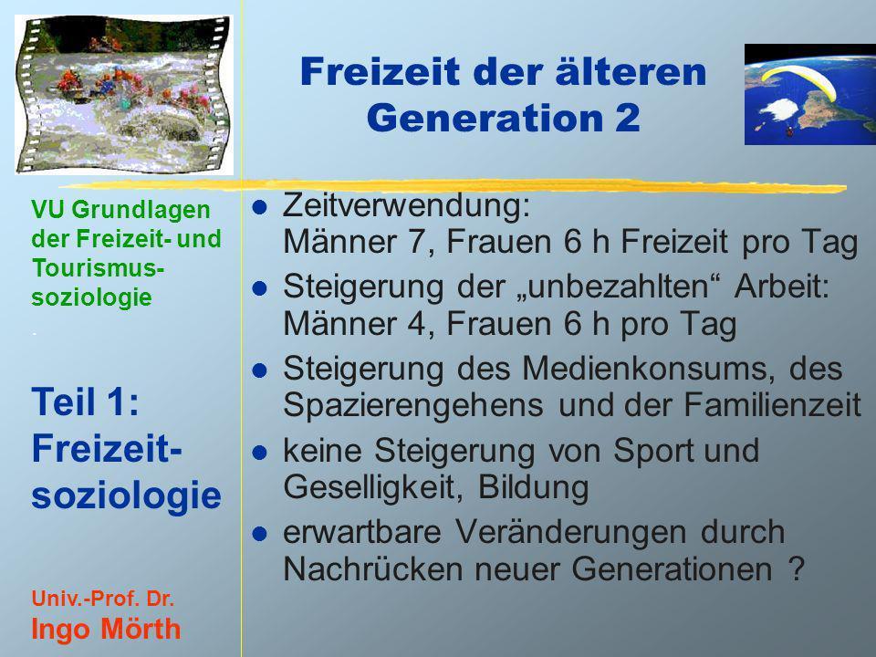 Freizeit der älteren Generation 2
