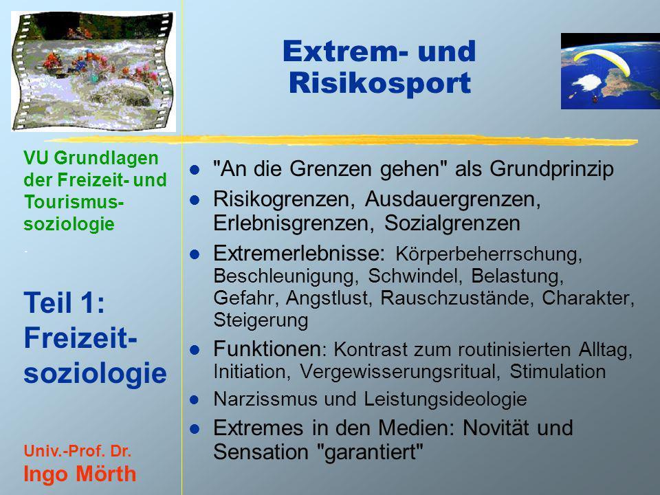 Extrem- und Risikosport