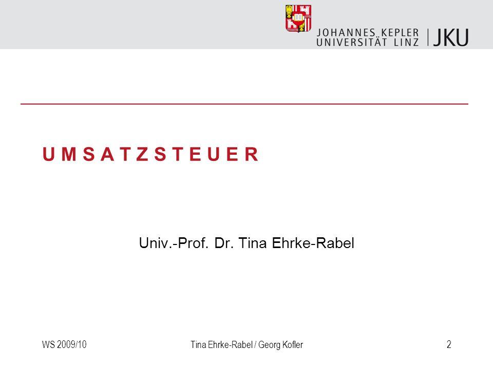 Univ.-Prof. Dr. Tina Ehrke-Rabel