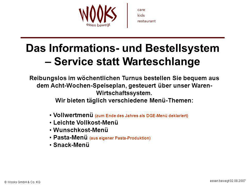 Das Informations- und Bestellsystem – Service statt Warteschlange