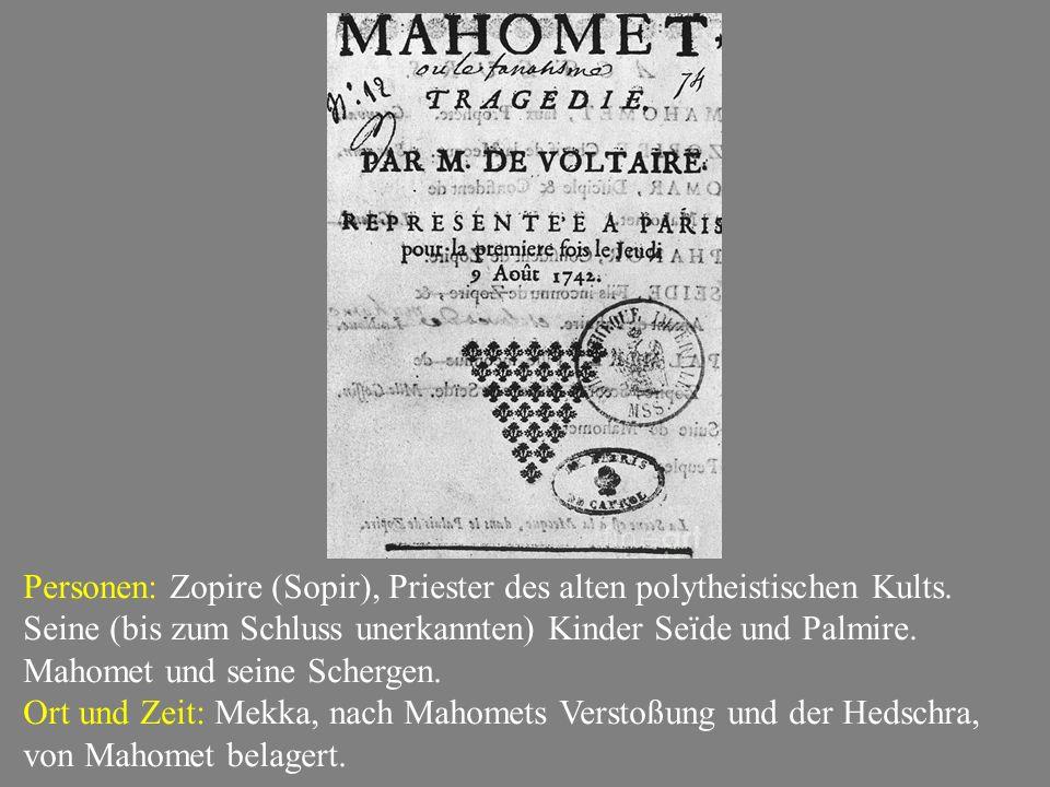 Personen: Zopire (Sopir), Priester des alten polytheistischen Kults.
