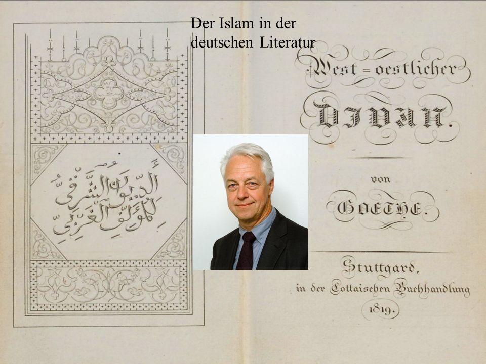 Der Islam in der deutschen Literatur