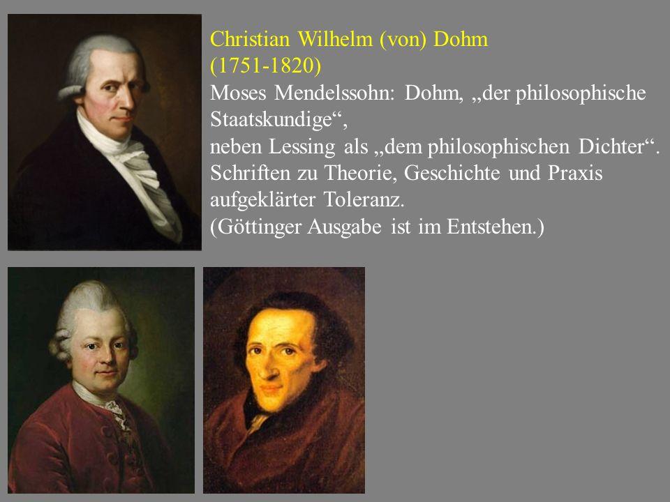 Christian Wilhelm (von) Dohm