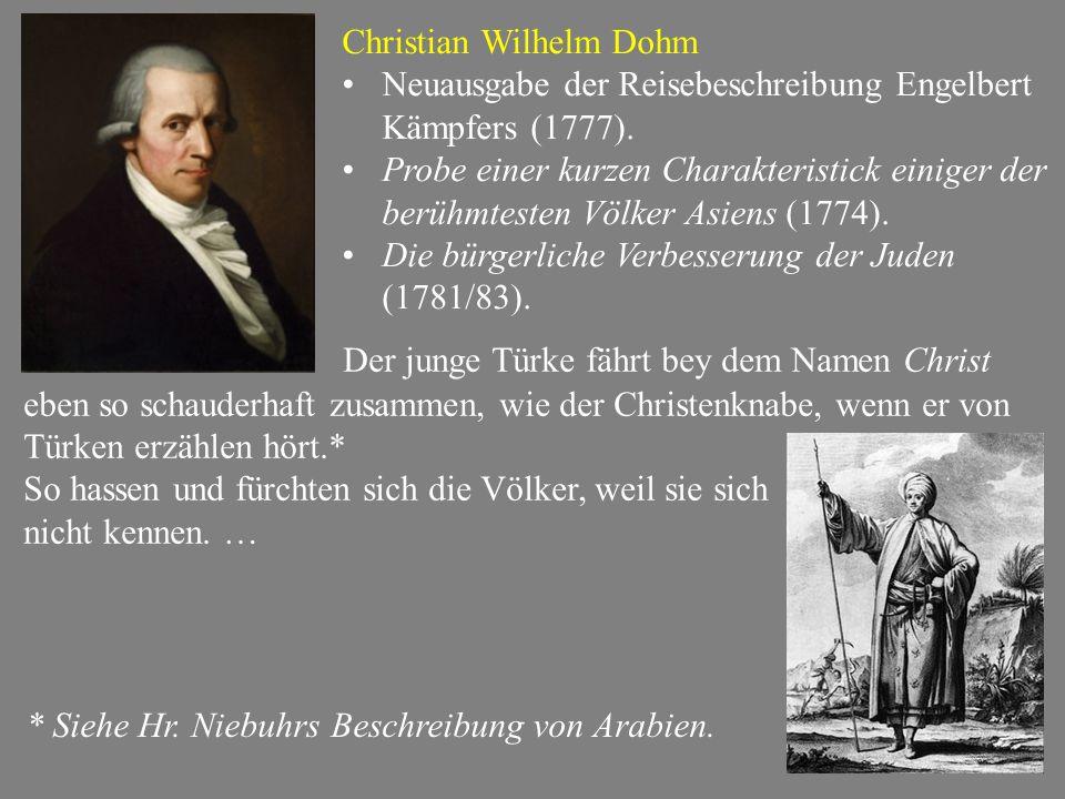 Christian Wilhelm Dohm