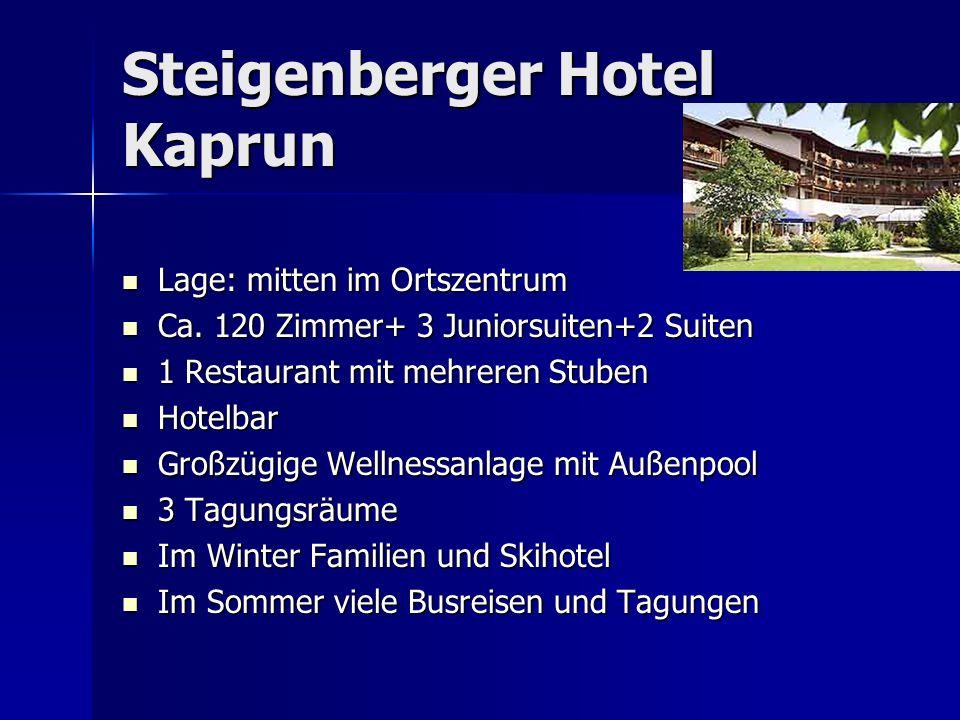 Steigenberger Hotel Kaprun