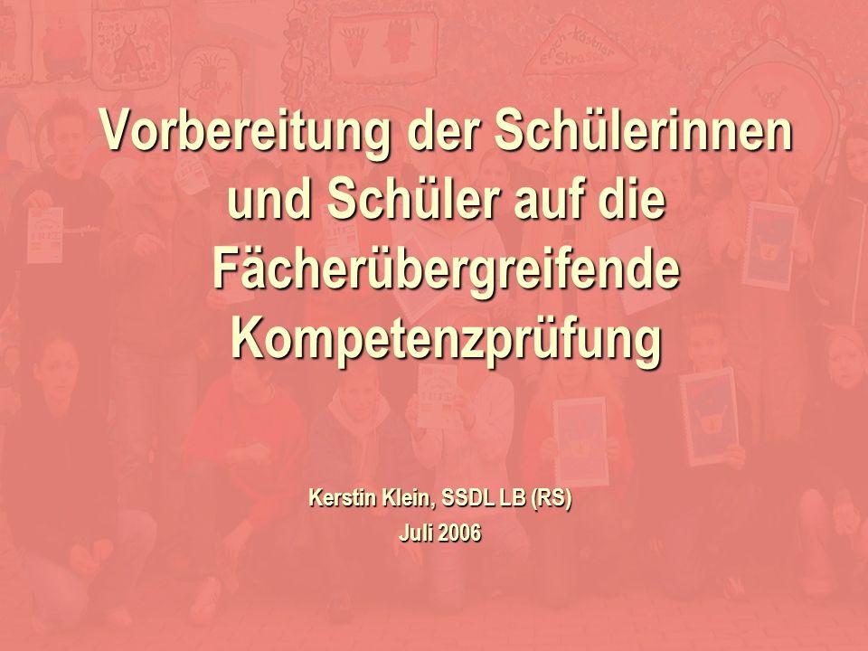 Kerstin Klein, SSDL LB (RS) Juli 2006