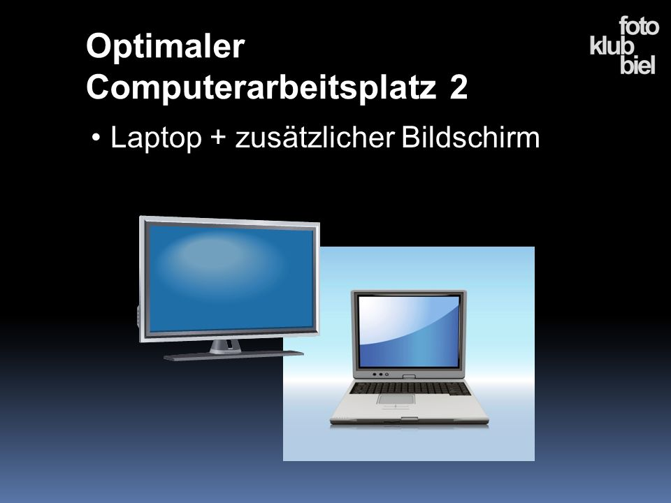 Optimaler Computerarbeitsplatz 2