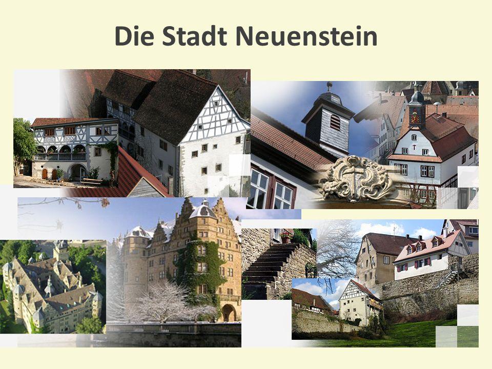Die Stadt Neuenstein